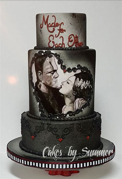 Themed Wedding Cakes by 13 Of The Coolest Wedding Cakes For A Themed