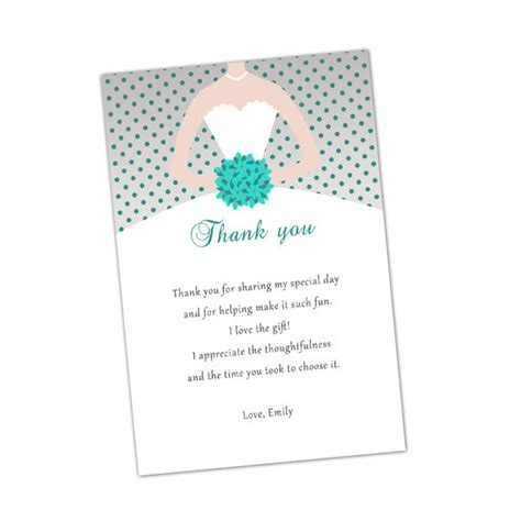 template for thank you card bridal shower bridal shower thank you card wording for 99 wedding