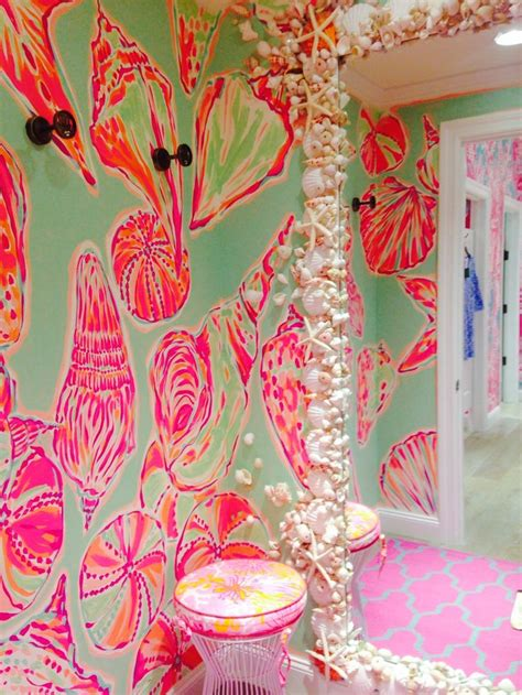 lilly pulitzer bathroom summer biscuits and running lilly p pinterest