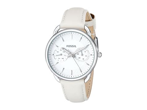 Fossil Es3806 fossil tailor es3806 in white lyst