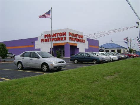 coast lighting merrillville phantom fireworks locations phantom of merrillville