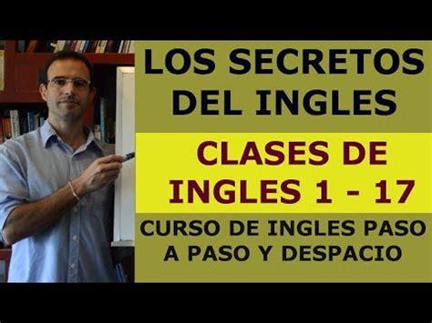 aprender ingles gratis ingles sin barreras dvd 2 leccion 4 parte 1