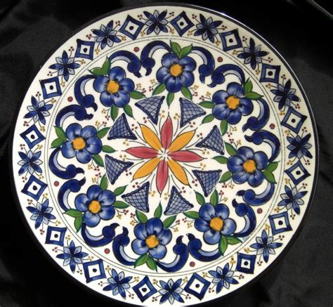 Decorative Platters by Made In Spain Moroccan Decorative Plate 70 S Ceramar