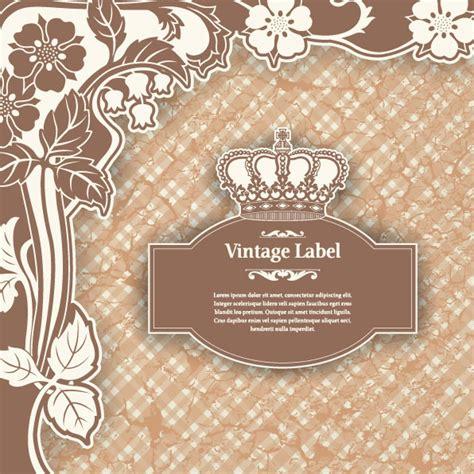pattern label 4 designer classic pattern label 01 vector material