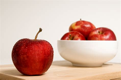 Plants Low Light free picture apples background single apple covered