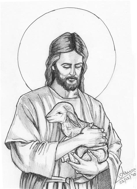 sketch and draw jesus simple pencil drawing images drawing of sketch