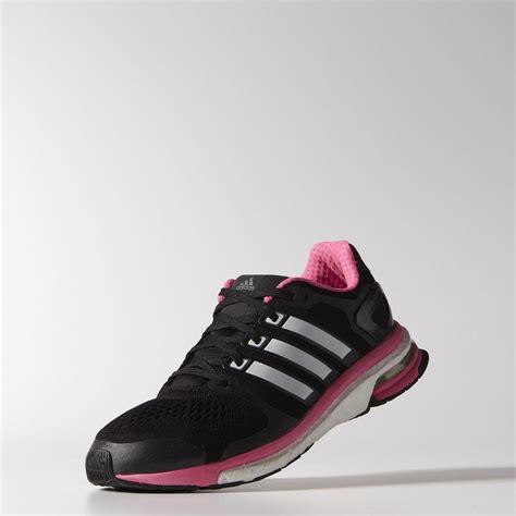 Sepatu Runninggym Adidas Boost Blackpink adidas womens adistar boost esm running shoes black white pink tennisnuts