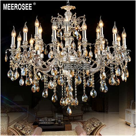 antique silver chandelier aliexpress buy large 18 arms antique silver