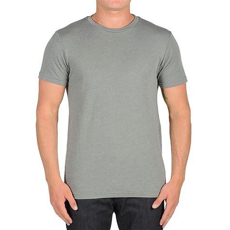 Gray Shirt volcom solid t shirt slate grey