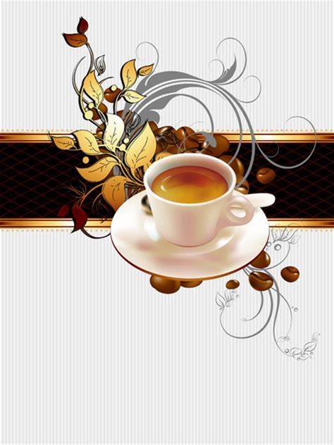 wallpaper coffee vector creative coffee vector background art free vector in