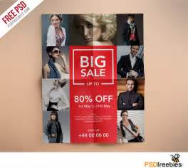 Fashion Flyers Templates For Free by Fashion Retail Sale Flyer Free Psd Template
