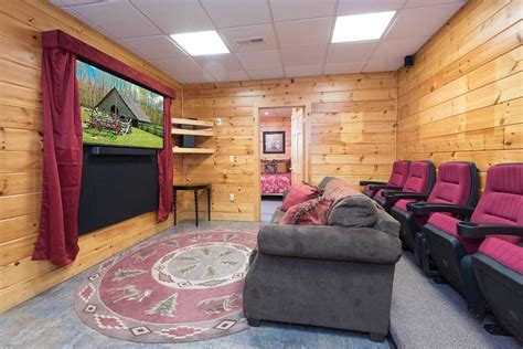 eagles escape theater game rooms hot tub covered