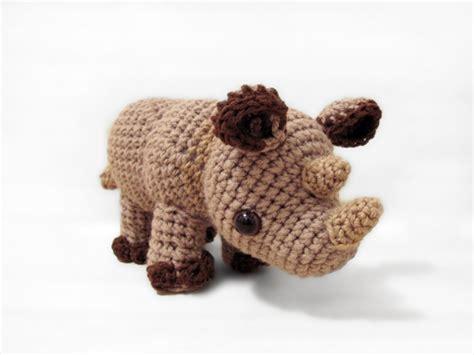 amigurumi rhino pattern little rhylie the rhino amigurumi pattern