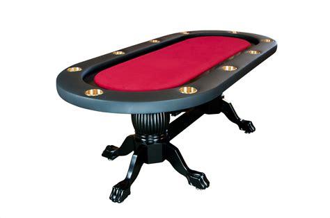 elite texas holdem poker table  wood legs  colors p