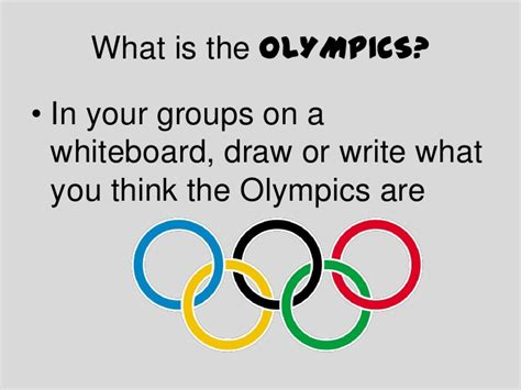 Olympics Ppt Olympic Ppt