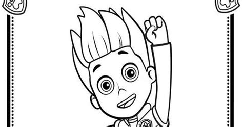 paw patrol ryder coloring pages to print ryder from paw