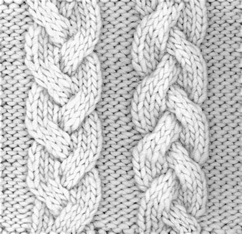 how to cable knit how to knit a braid cable dummies