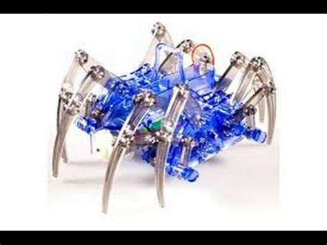 Mainan Robot Spider how to make a spider robot doovi