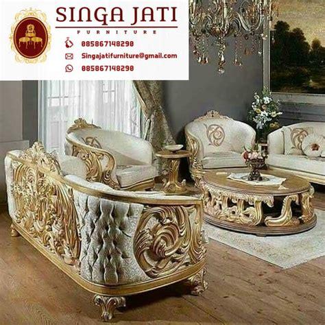 Kursi Tamu Bellagio Jati Asli jual kursi tamu sofa mewah ukiran jepara kayu jati asli