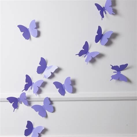 Wandtattoo Kinderzimmer Tedi by Wandtattoo 3d Schmetterlinge Lila Reuniecollegenoetsele