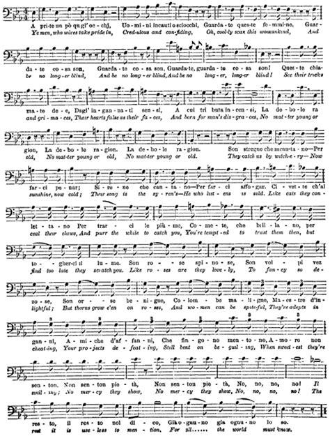 Marriage of figaro lyrics english translation