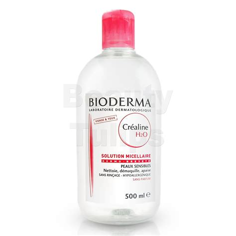 Bioderna Sensibio Cleanser H20 500ml bioderma crealine sensibio h2o micelle solution daily