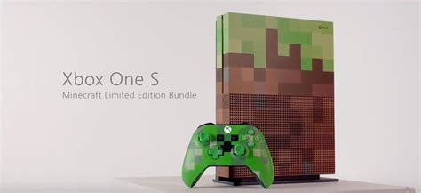 Xbox One Minecraft minecraft xbox one s limited edition bundle coming in october xbox one xbox 360 news at