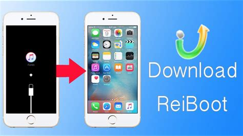 reiboot to enter exit recovery mode on iphone 6 se 6s 6 5s 5c 5 4s 4