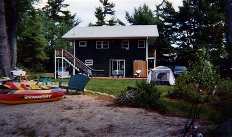 lakeside cottage rentals great east lake summer lakeside cottage rental