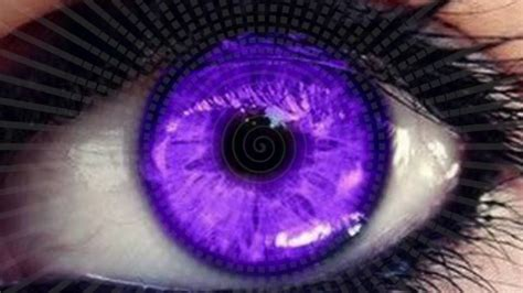 chagne pink color change your eye color to purple in 10 seconds hypnosis