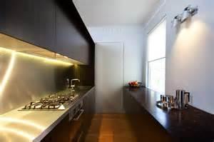 Kitchen Designs 2012 stainless steel splashbacks linear kitchen designs