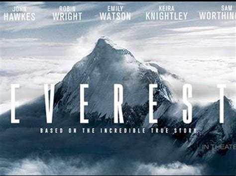 film everest true story trailer of 3d biography disaster film everest released
