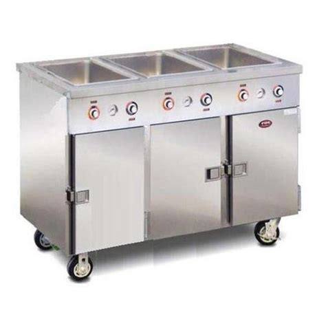 food warming equipment steam table 3 pan portable with