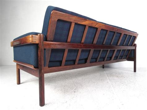mid century modern living room furniture mid century modern danish rosewood living room set for