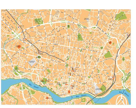 map of porto image gallery oporto map