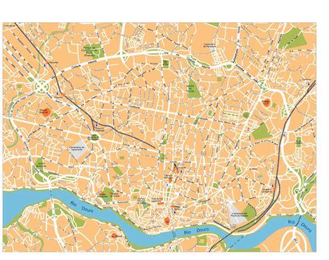 porto map porto vector maps as digital file purchase
