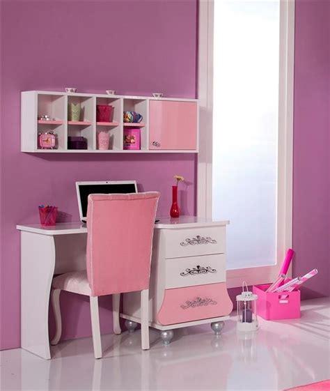 scrivania cameretta scrivania rosa bambina design casa creativa e mobili