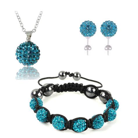 wholesale shamballa jewelry set fashion bracelets bangles