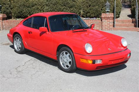 1991 Porsche 911 964 Carrera 2 Guards Red Rennlist