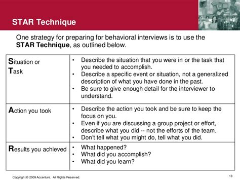 use the star technique to ace your behavioral interview use the