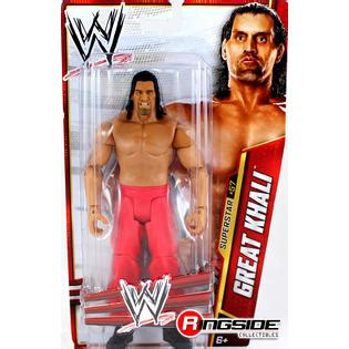 kmart wwe wrestlers wwe great khali wwe series 33 toy wrestling action