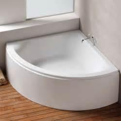 48 corner bathtub hoesch scelta corner bath side with panel white 3677 010 reuter shop com
