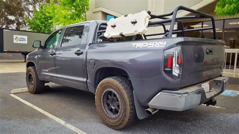 toyota bed rack bamf crewmax bed rack toyota tundra forum