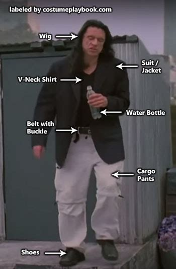 the room johnny the room disaster artist costume costume playbook ideas