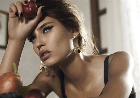 dolce models bianca balti for dolce gabbana jewelry fall winter 2011 12