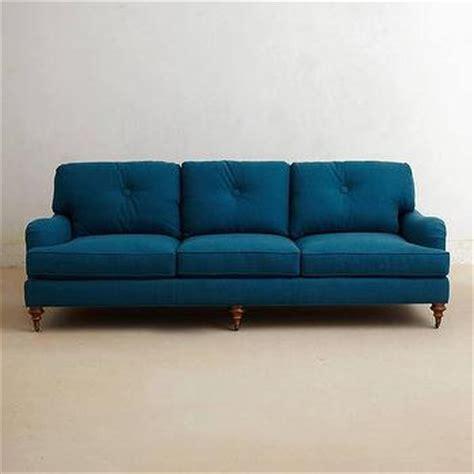 Finn Turquoise Sofa Turquoise Tufted Sofa