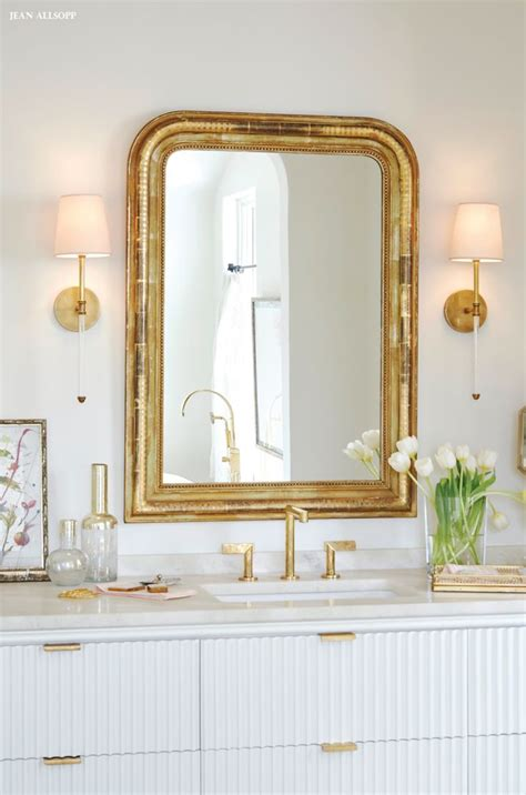 gold bathroom mirror best 25 gold framed mirror ideas on pinterest ornate