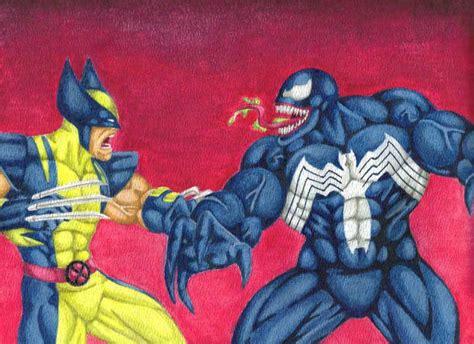 imagenes de wolverine vs venom wolverine vs venom by darkclaw1303 on deviantart