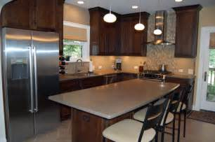 Kitchen Wall Colors With Dark Cabinets by Colorful Kitchens With Dark Cabinets Kitchen Wall Colors