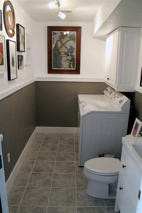 Bathroom Laundry Room Ideas | laundry room half bath before and afters chris loves julia